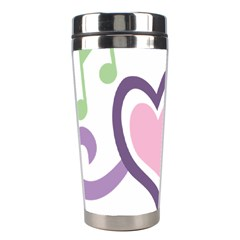 Sweetie Belle s Love Heart Star Music Note Green Pink Purple Stainless Steel Travel Tumblers by Alisyart