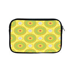 Sunflower Floral Yellow Blue Circle Apple Macbook Pro 13  Zipper Case by Alisyart