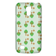Tree Circle Green Yellow Grey Galaxy S4 Mini by Alisyart