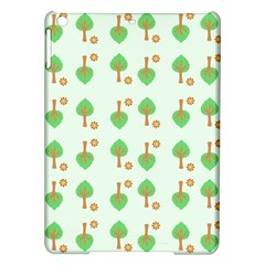 Tree Circle Green Yellow Grey Ipad Air Hardshell Cases by Alisyart