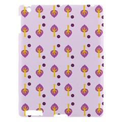 Tree Circle Purple Yellow Apple Ipad 3/4 Hardshell Case by Alisyart