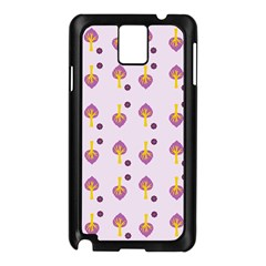 Tree Circle Purple Yellow Samsung Galaxy Note 3 N9005 Case (black) by Alisyart