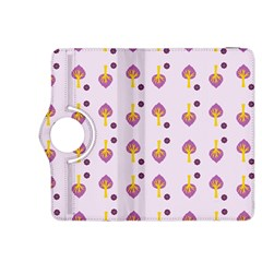 Tree Circle Purple Yellow Kindle Fire Hdx 8 9  Flip 360 Case by Alisyart