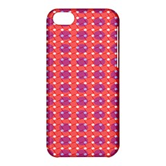 Roll Circle Plaid Triangle Red Pink White Wave Chevron Apple Iphone 5c Hardshell Case by Alisyart
