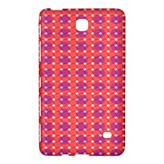 Roll Circle Plaid Triangle Red Pink White Wave Chevron Samsung Galaxy Tab 4 (7 ) Hardshell Case  by Alisyart