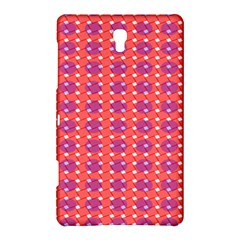 Roll Circle Plaid Triangle Red Pink White Wave Chevron Samsung Galaxy Tab S (8 4 ) Hardshell Case  by Alisyart