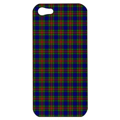 Tartan Fabrik Plaid Color Rainbow Apple Iphone 5 Hardshell Case by Alisyart