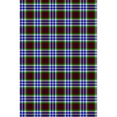 Tartan Fabrik Plaid Color Rainbow Triangle 5 5  X 8 5  Notebooks by Alisyart