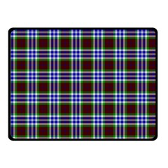 Tartan Fabrik Plaid Color Rainbow Triangle Fleece Blanket (small) by Alisyart