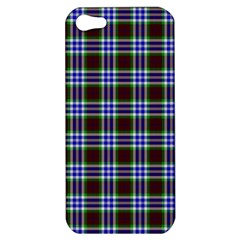 Tartan Fabrik Plaid Color Rainbow Triangle Apple Iphone 5 Hardshell Case by Alisyart