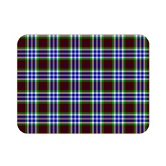Tartan Fabrik Plaid Color Rainbow Triangle Double Sided Flano Blanket (mini)  by Alisyart