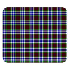 Tartan Fabrik Plaid Color Rainbow Triangle Double Sided Flano Blanket (small)  by Alisyart