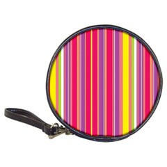 Stripes Colorful Background Classic 20 Cd Wallets by Simbadda