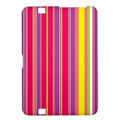 Stripes Colorful Background Kindle Fire Hd 8 9  by Simbadda