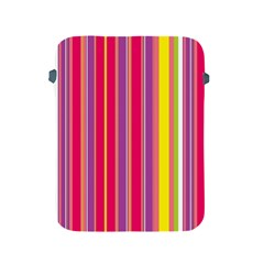 Stripes Colorful Background Apple Ipad 2/3/4 Protective Soft Cases by Simbadda