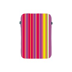 Stripes Colorful Background Apple Ipad Mini Protective Soft Cases by Simbadda
