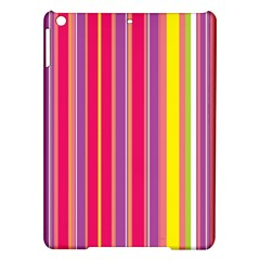 Stripes Colorful Background Ipad Air Hardshell Cases by Simbadda