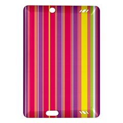 Stripes Colorful Background Amazon Kindle Fire Hd (2013) Hardshell Case by Simbadda