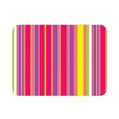 Stripes Colorful Background Double Sided Flano Blanket (mini)  by Simbadda