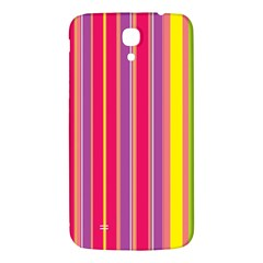 Stripes Colorful Background Samsung Galaxy Mega I9200 Hardshell Back Case