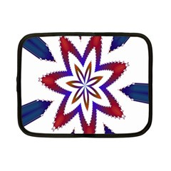 Fractal Flower Netbook Case (small)  by Simbadda