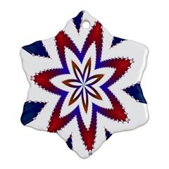 Fractal Flower Ornament (snowflake) by Simbadda