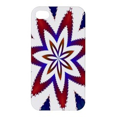 Fractal Flower Apple Iphone 4/4s Hardshell Case by Simbadda