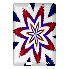 Fractal Flower Amazon Kindle Fire Hd (2013) Hardshell Case by Simbadda