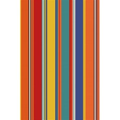 Stripes Background Colorful 5 5  X 8 5  Notebooks by Simbadda