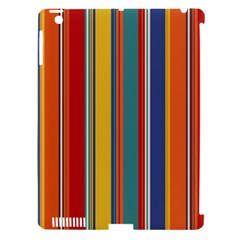 Stripes Background Colorful Apple Ipad 3/4 Hardshell Case (compatible With Smart Cover) by Simbadda