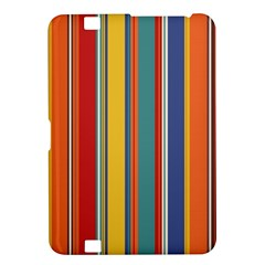 Stripes Background Colorful Kindle Fire Hd 8 9  by Simbadda