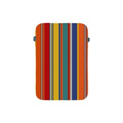 Stripes Background Colorful Apple Ipad Mini Protective Soft Cases by Simbadda