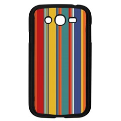 Stripes Background Colorful Samsung Galaxy Grand Duos I9082 Case (black) by Simbadda