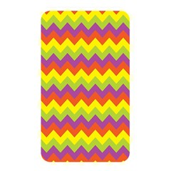 Colorful Zigzag Stripes Background Memory Card Reader by Simbadda