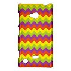 Colorful Zigzag Stripes Background Nokia Lumia 720 by Simbadda