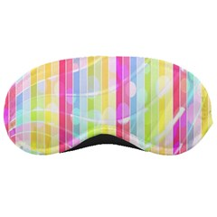 Abstract Stripes Colorful Background Sleeping Masks