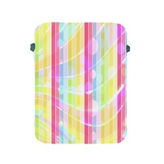 Abstract Stripes Colorful Background Apple Ipad 2/3/4 Protective Soft Cases by Simbadda