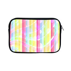Abstract Stripes Colorful Background Apple Ipad Mini Zipper Cases by Simbadda