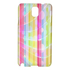 Abstract Stripes Colorful Background Samsung Galaxy Note 3 N9005 Hardshell Case by Simbadda