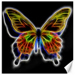 Fractal Butterfly Canvas 16  X 16   by Simbadda