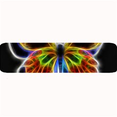 Fractal Butterfly Large Bar Mats by Simbadda