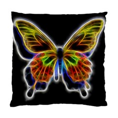 Fractal Butterfly Standard Cushion Case (one Side) by Simbadda