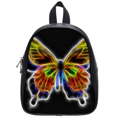 Fractal Butterfly School Bags (small)  by Simbadda