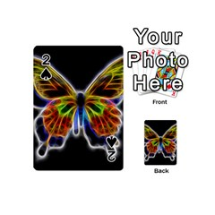 Fractal Butterfly Playing Cards 54 (mini)  by Simbadda
