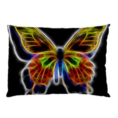 Fractal Butterfly Pillow Case (two Sides) by Simbadda