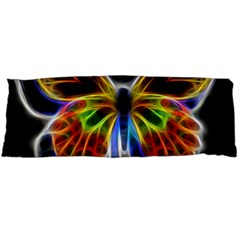 Fractal Butterfly Body Pillow Case Dakimakura (two Sides) by Simbadda