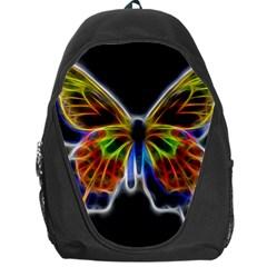 Fractal Butterfly Backpack Bag by Simbadda