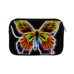 Fractal Butterfly Apple Ipad Mini Zipper Cases by Simbadda
