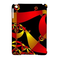 Fractal Ribbons Apple Ipad Mini Hardshell Case (compatible With Smart Cover) by Simbadda