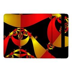 Fractal Ribbons Samsung Galaxy Tab Pro 10 1  Flip Case by Simbadda